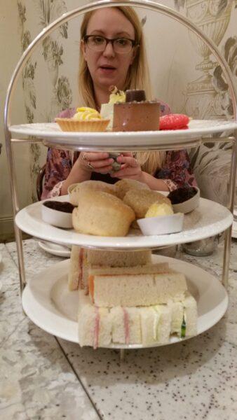 Harriet's Cafe tearoom afternoon tea