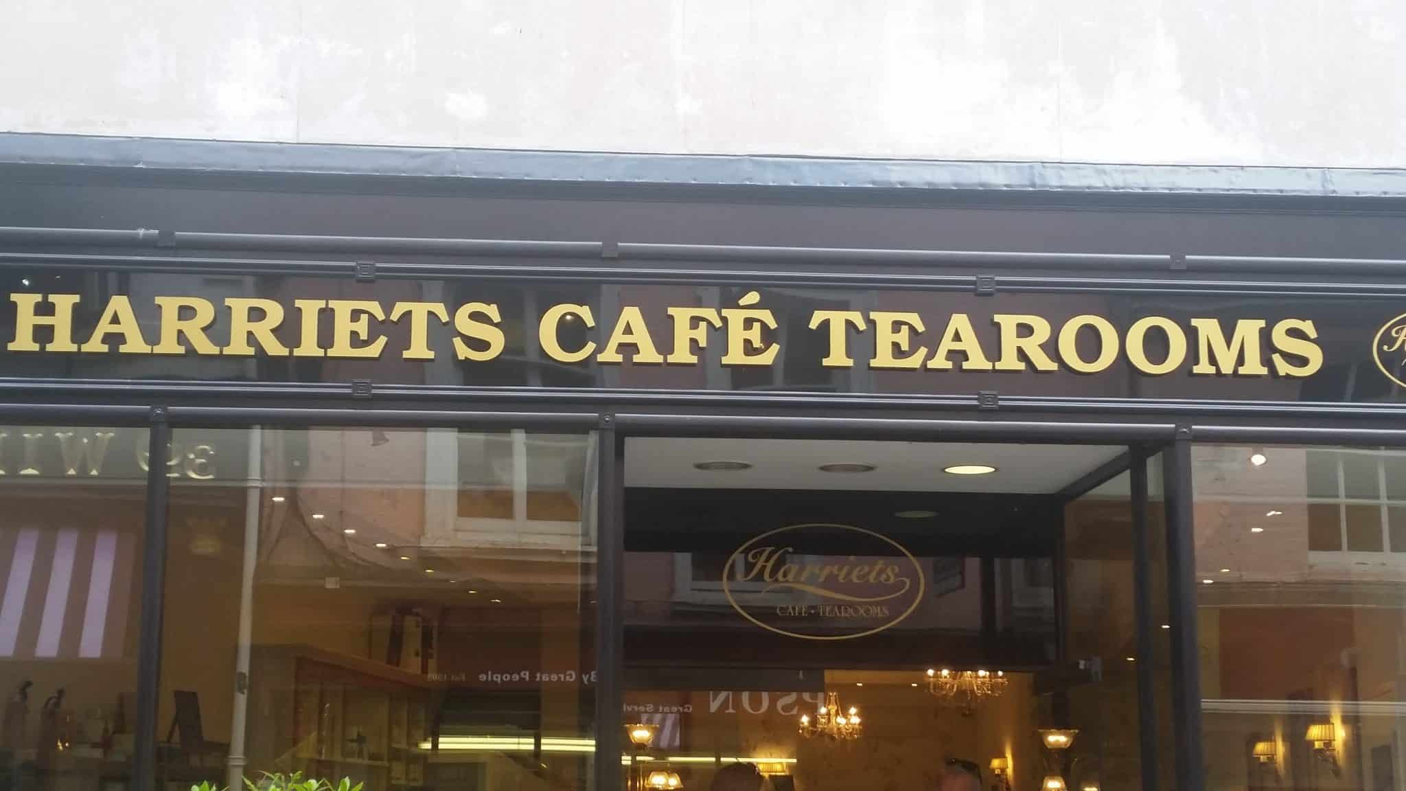 Harriet's Cafe tearoom