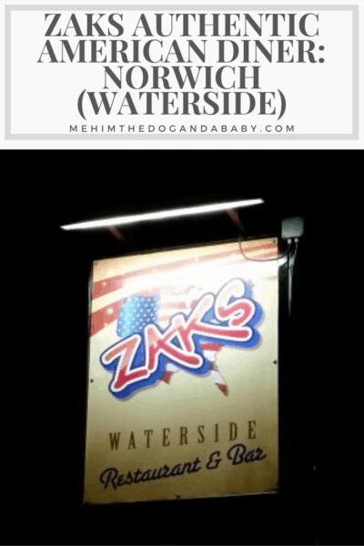 Zaks Authentic American Diner: Norwich (Waterside)