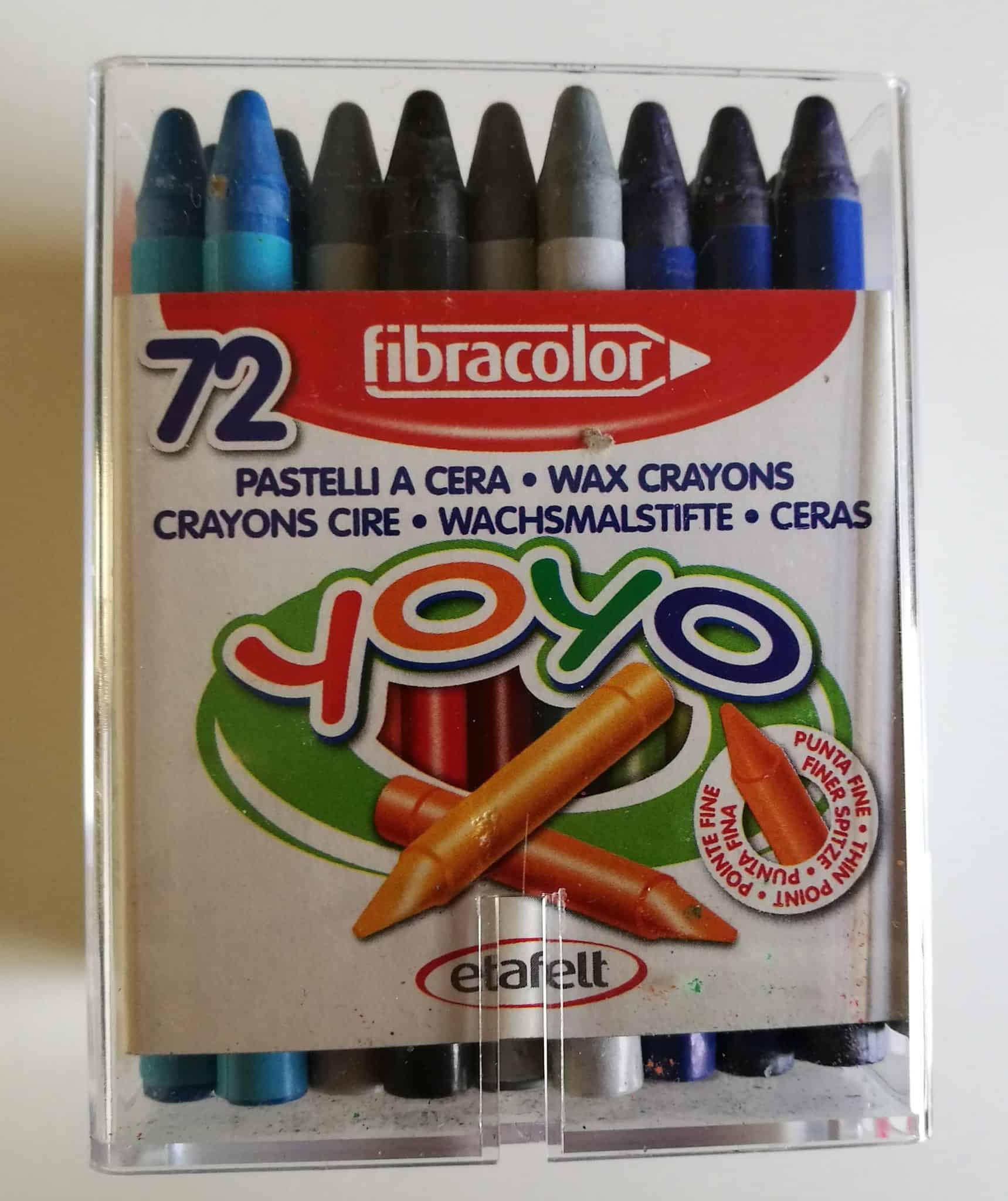 72 Wax Crayons