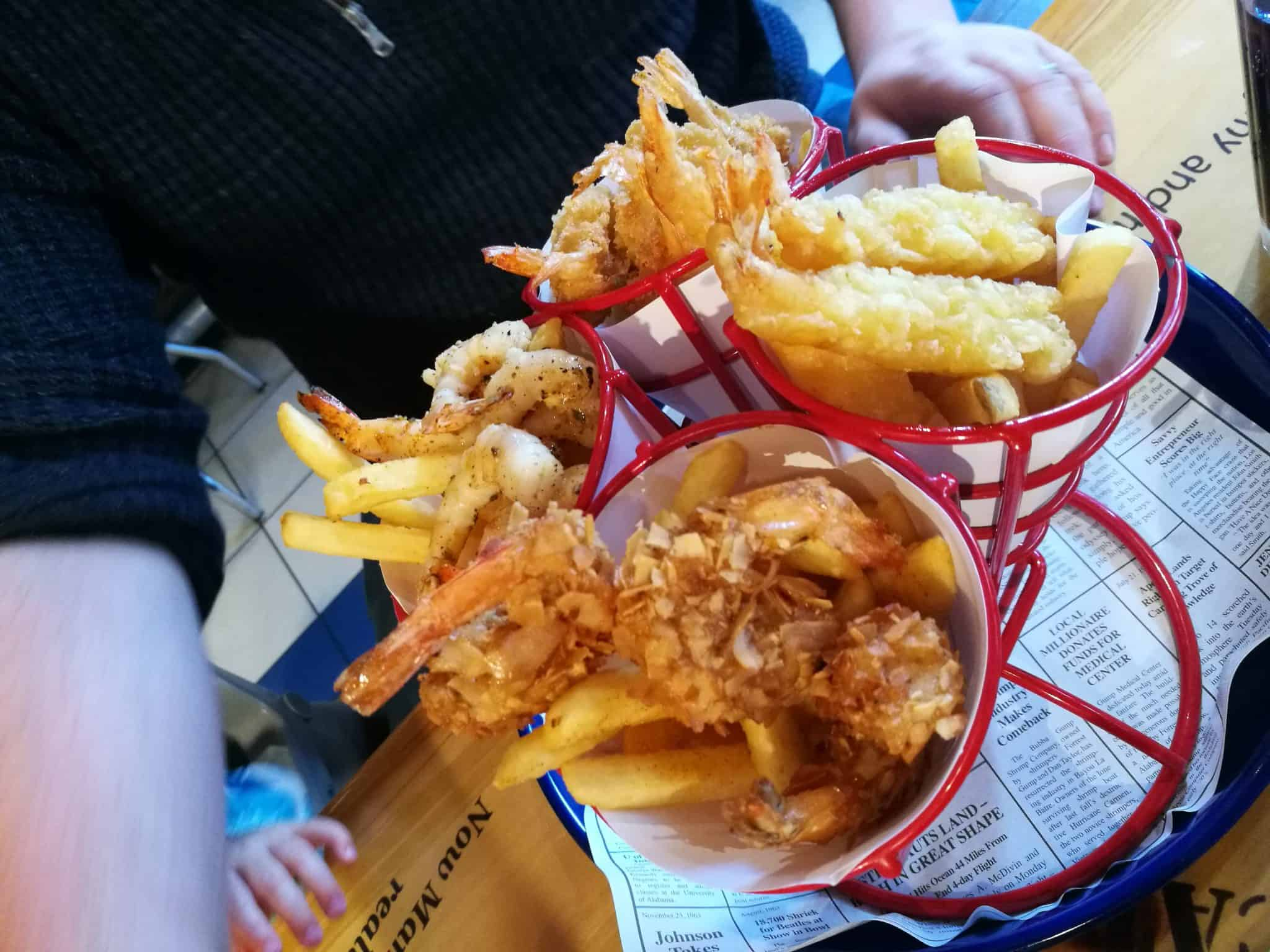 Restaurant Review: Bubba Gump Shrimp