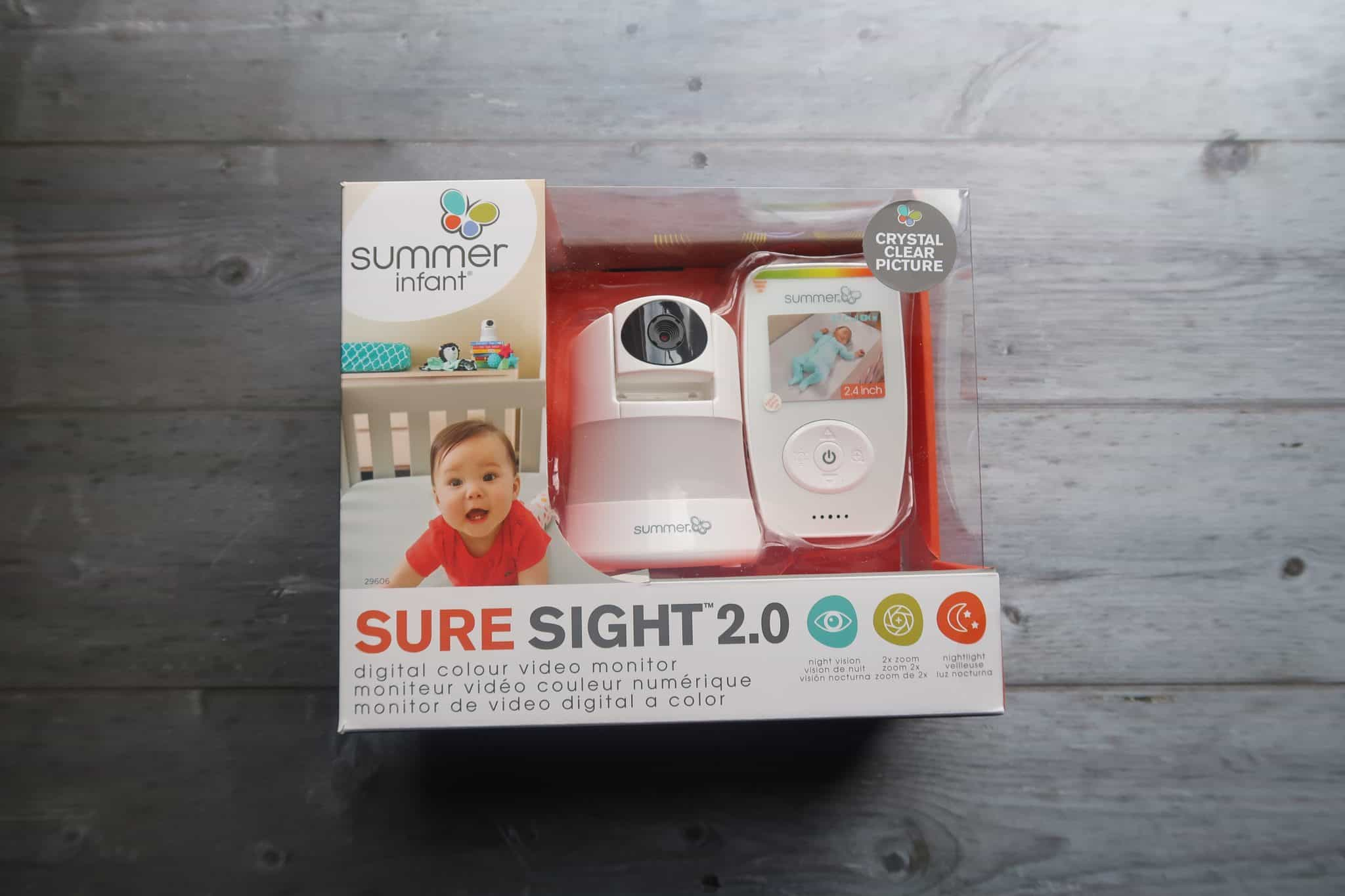 Summer Infant Sure Sight 2.0 Digital Video Baby Monitor Review