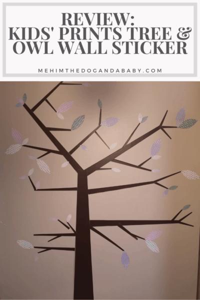 Review: Kids' Prints Tree & Owl Wall Sticker