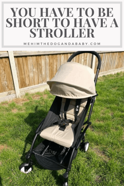 You Have To Be Short To Have A Stroller