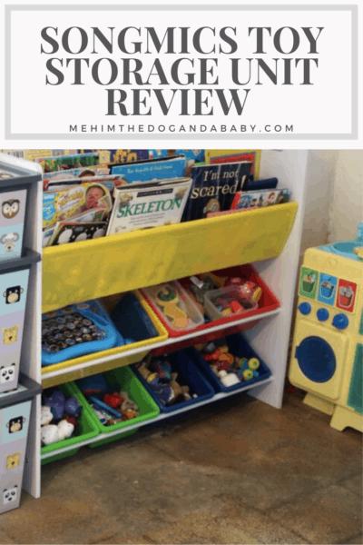 Songmics Toy Storage Unit Review
