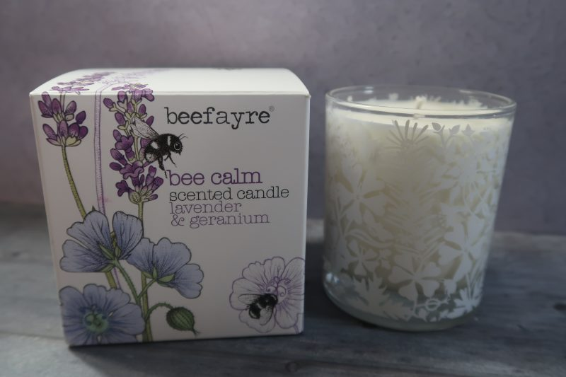 Bee Calm Large Candle