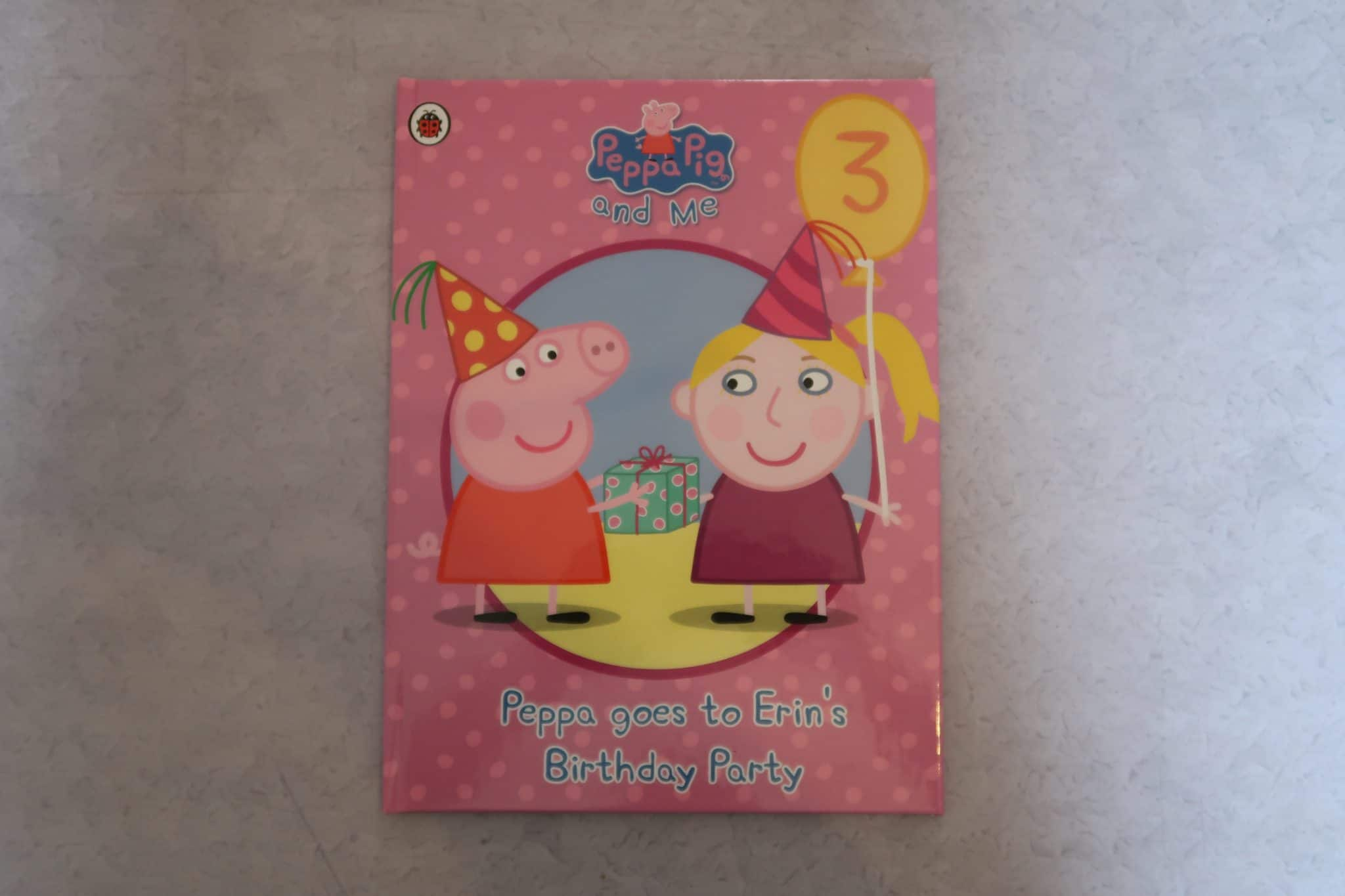 Personalised Peppa Pig Party Book from Penwizard