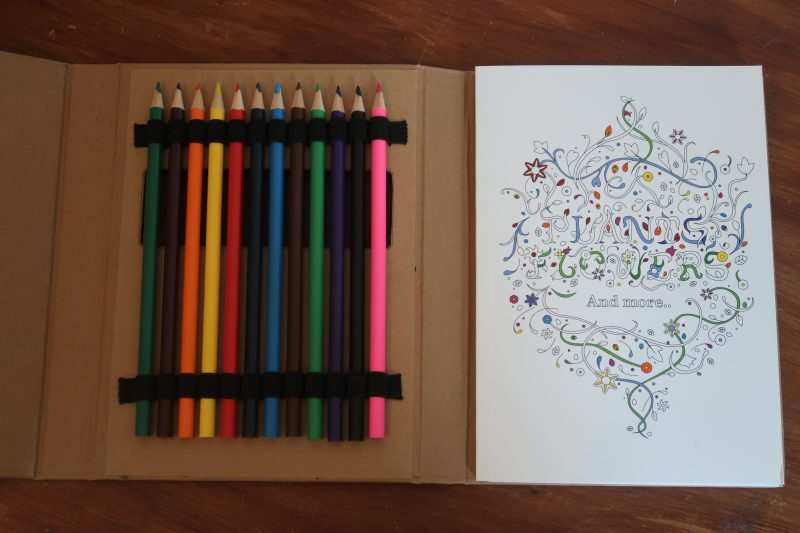 Printkick colouring book