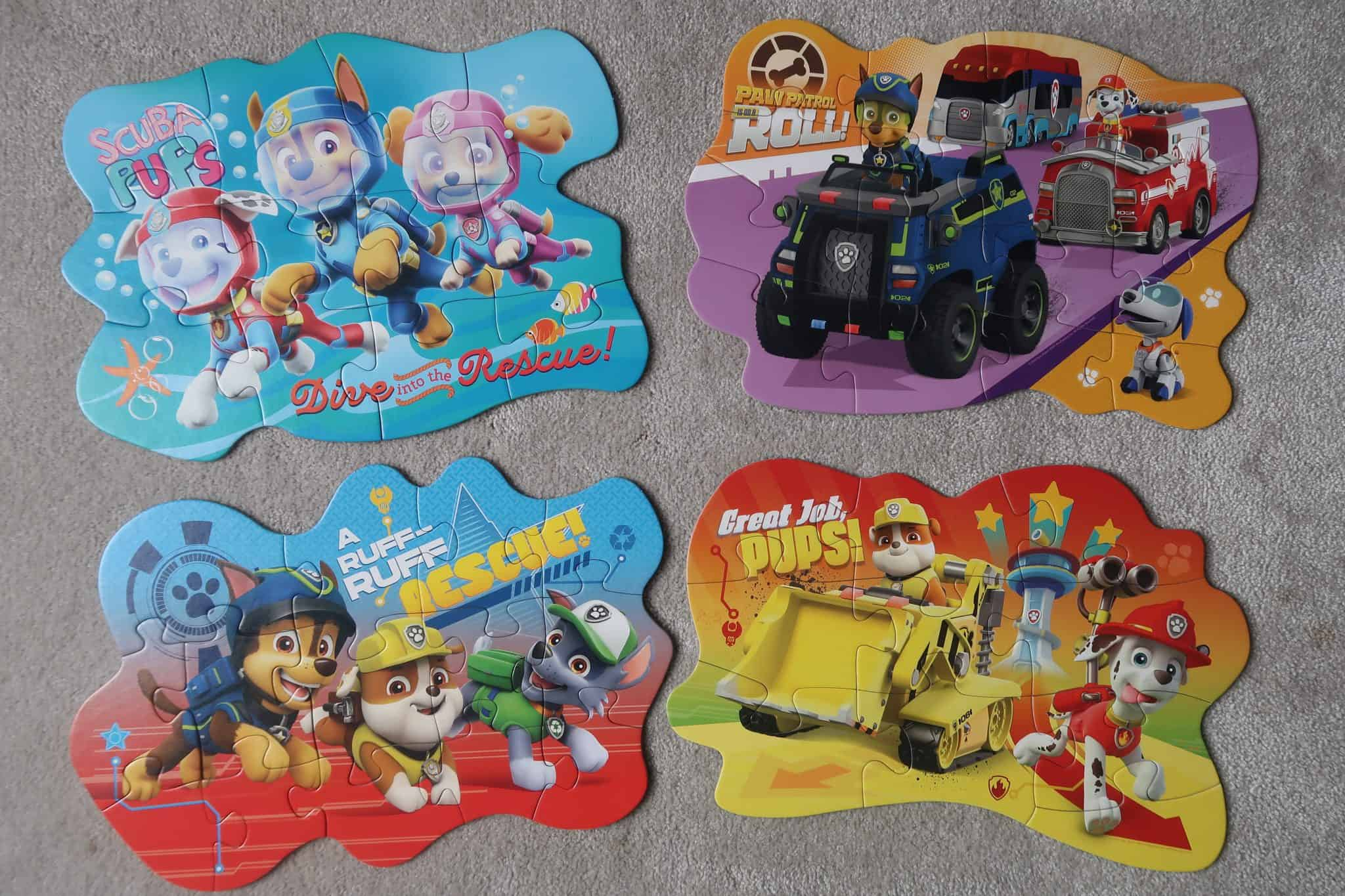 Paw Patrol Puzzles