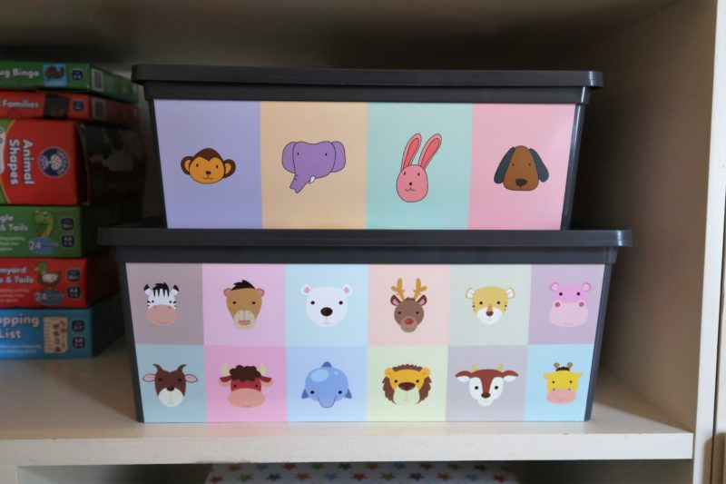 Maqio animal storage boxes