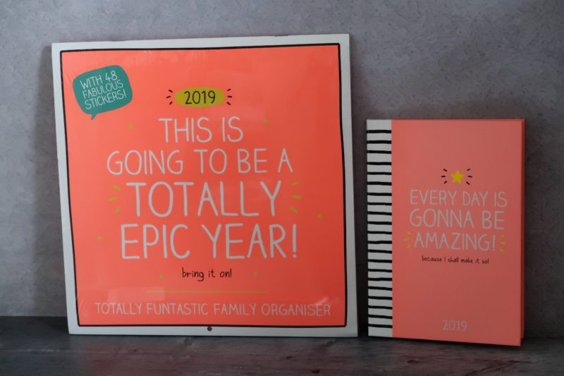 Happy Jackson 2019 calendar and diary