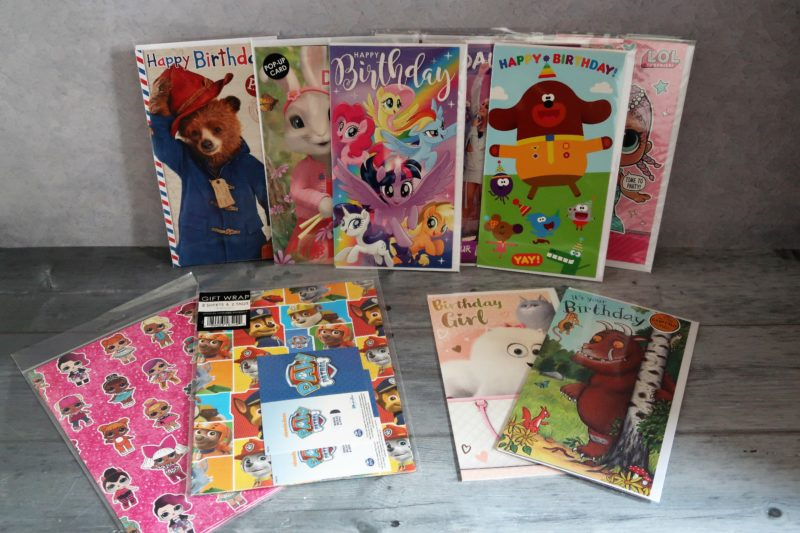 Danilo birthday cards and wrap