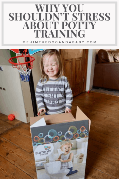 Why You Shouldn't Stress About Potty Training
