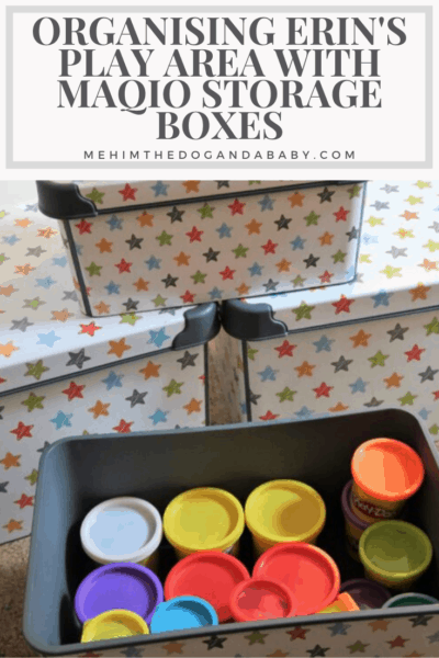 Organising Erin's Play Area With Maqio Storage Boxes