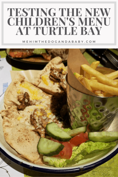 Testing The New Children's Menu At Turtle Bay