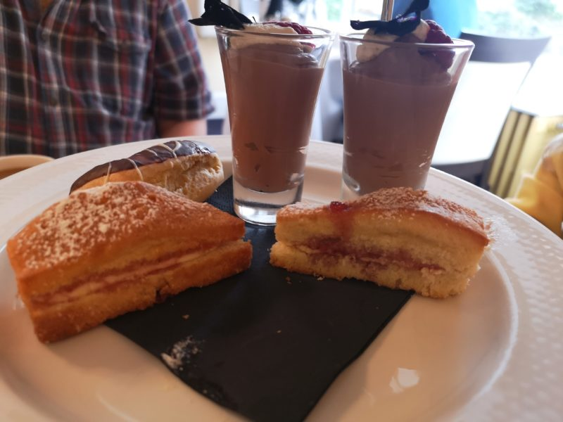 Afternoon tea at the Beechwood Hotel
