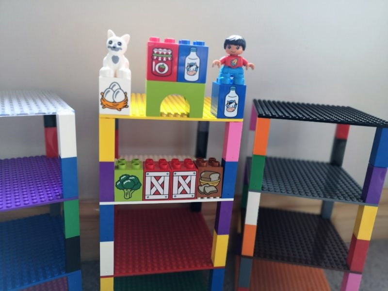 Strictly Briks Rainbow Stackable Baseplates