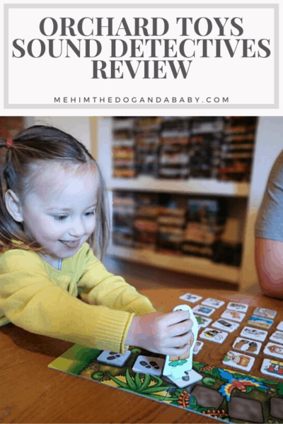 Orchard Toys Sound Detectives Review