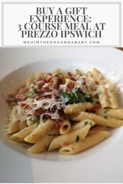 Buy A Gift Experience: 3 Course Meal At Prezzo Ipswich