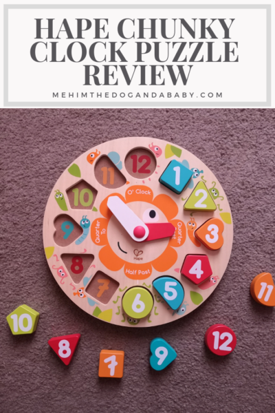 Hape Chunky Clock Puzzle Review