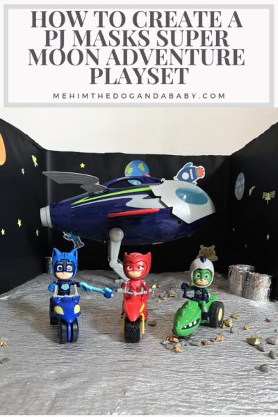 How To Create A PJ Masks Super Moon Adventure Playset