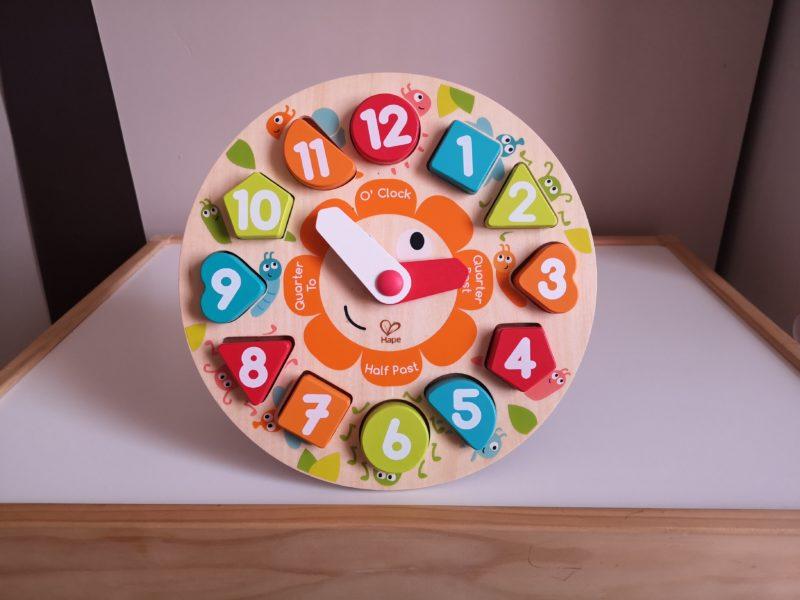 Hape Chunky Clock Puzzle