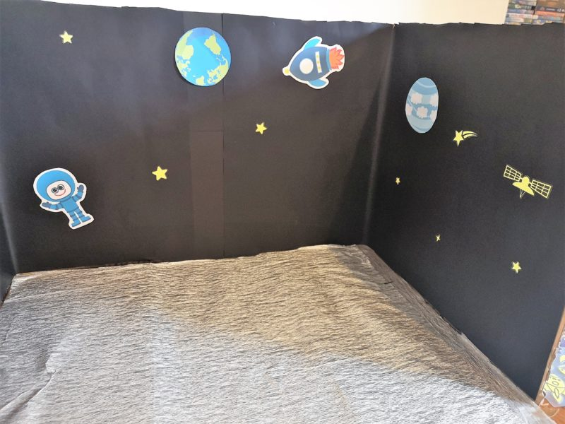 Making the PJ Masks Super Moon Adventure Playset