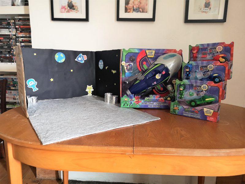 Super Moon playset and PJ Masks toys