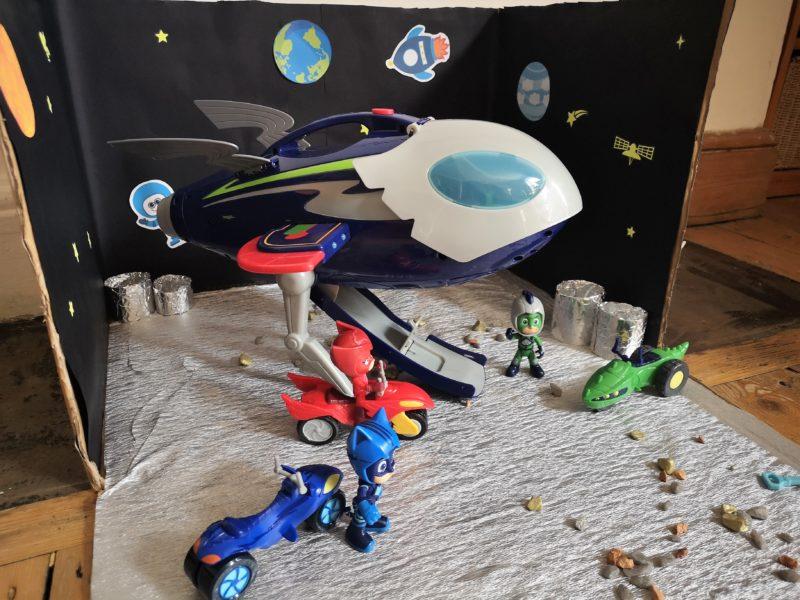 PJ Masks Super Moon Adventure Playset and toys