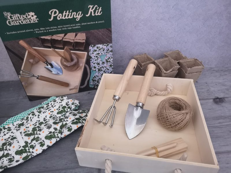 Home Bargains potting kit