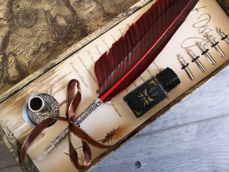 Viking quill box