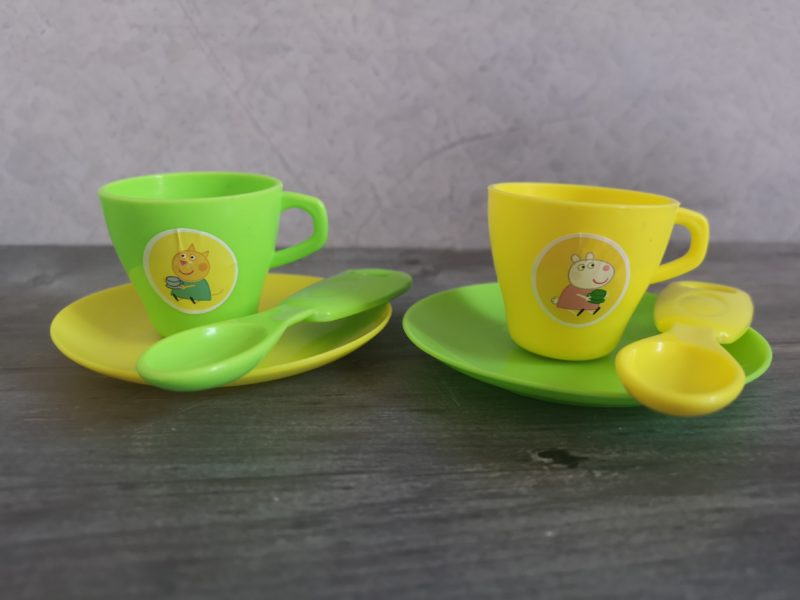 Peppa's House Tea Set