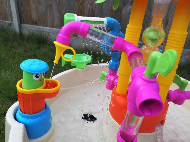 Little Tikes Fountain Factory Water Table pipes