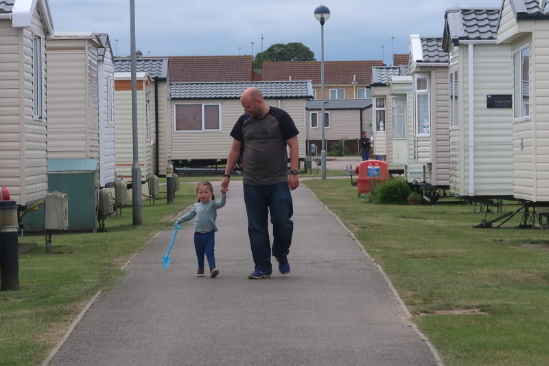 John and Erin at Haven Caistor-on-Sea