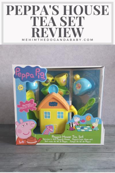 Peppa's House Tea Set Review