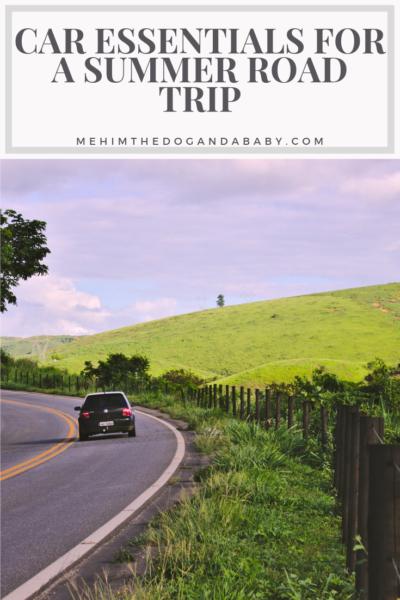 Car Essentials For A Summer Road Trip