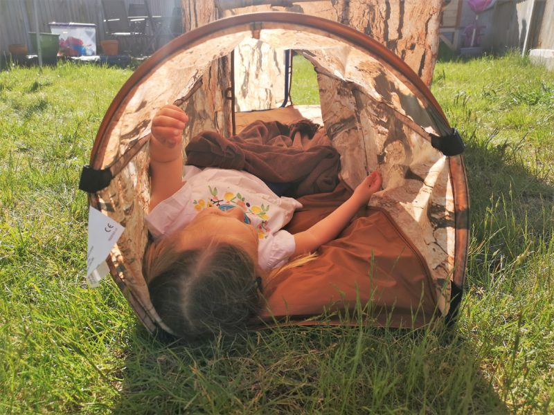 Leaf Education Natural Tree House and Tunnel