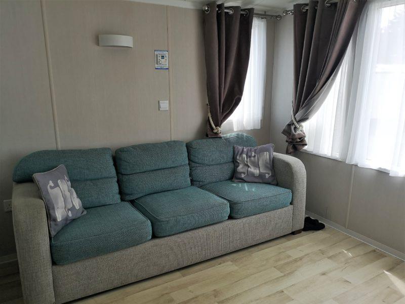 Haven Seashore Prestige caravan living room