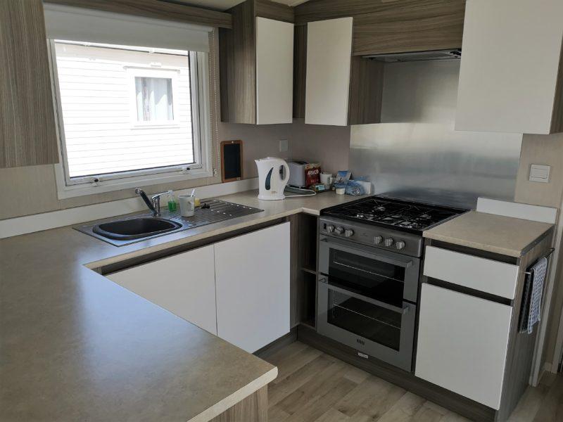 Haven Seashore Prestige caravan kitchen