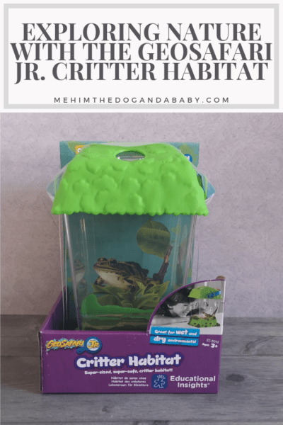 Exploring Nature With The GeoSafari Jr. Critter Habitat