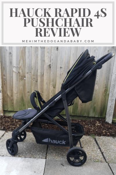 Hauck Rapid 4s Pushchair Review
