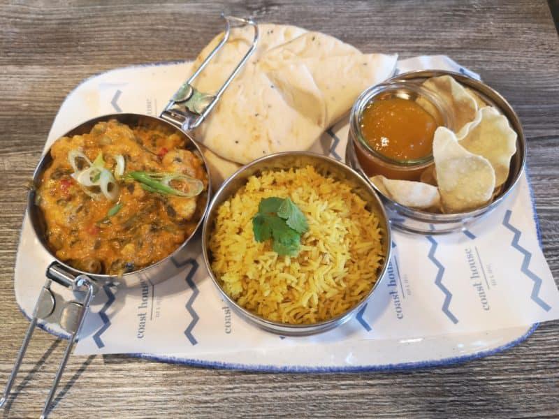 The Coast House Restaurant curry