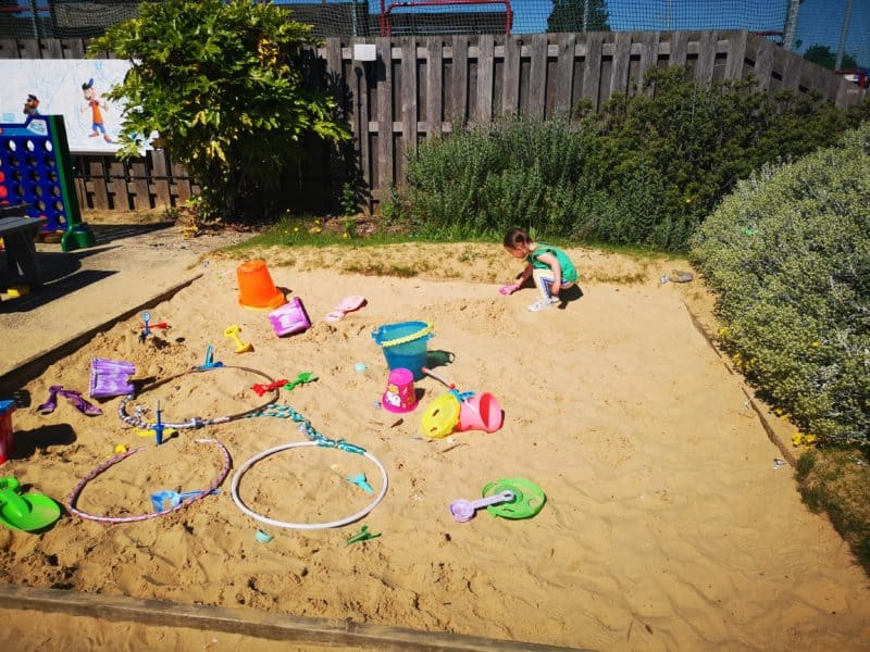 Haven Seashore sandpit