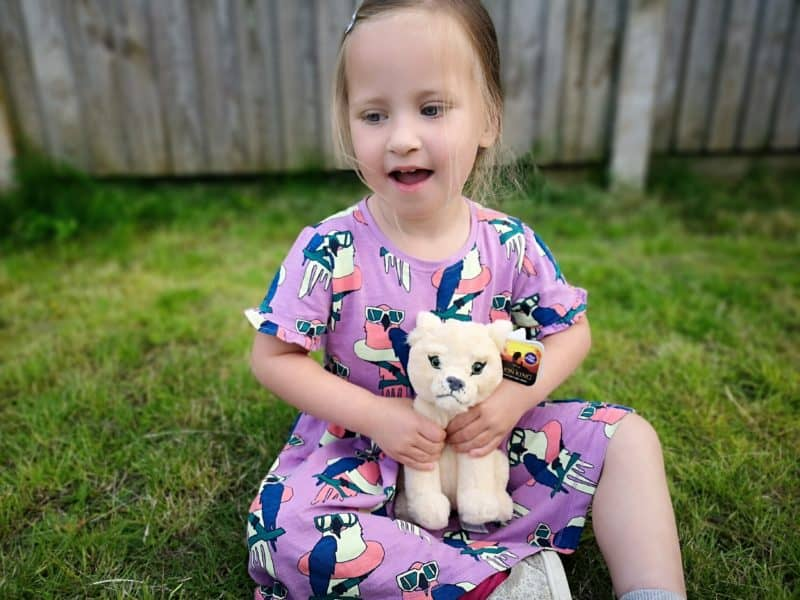 Erin and the Nala small plush with sound
