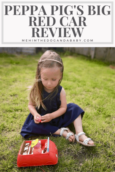Peppa Pig's Big Red Car Review