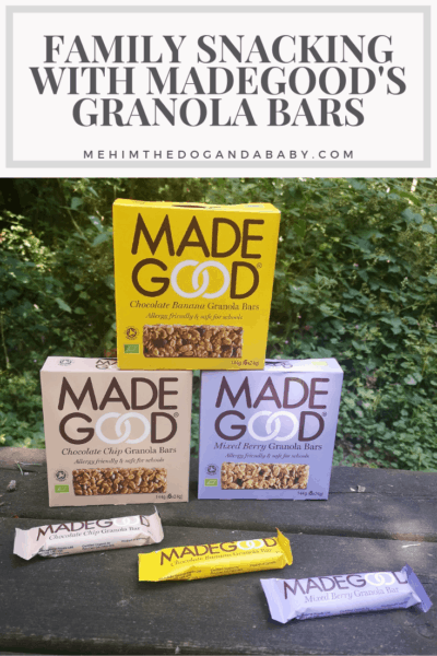 Family Snacking With MadeGood's Granola Bars