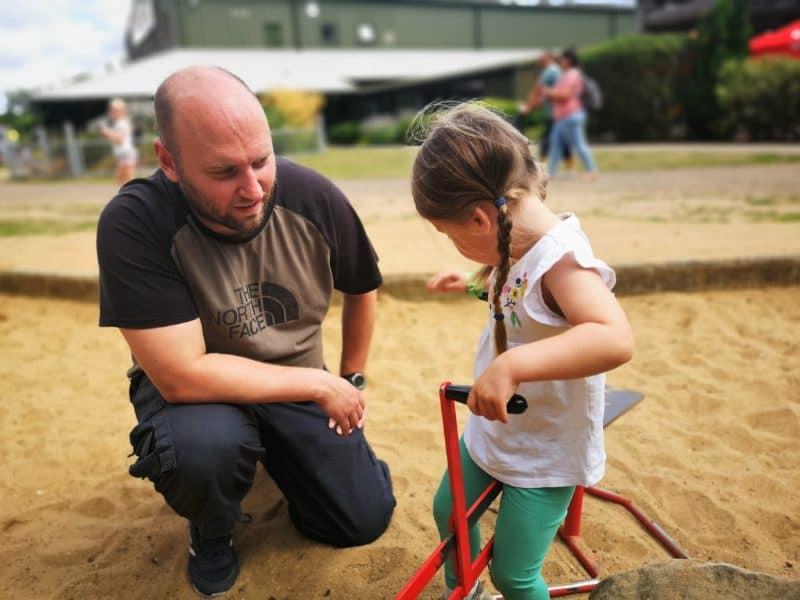 Sand digging