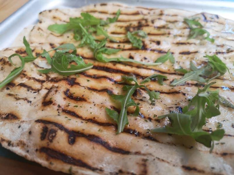 Turtle Bay Garlic Flatbread