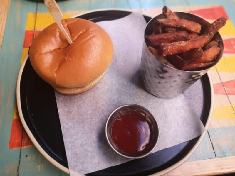 Turtle Bay Shack Stack Burger