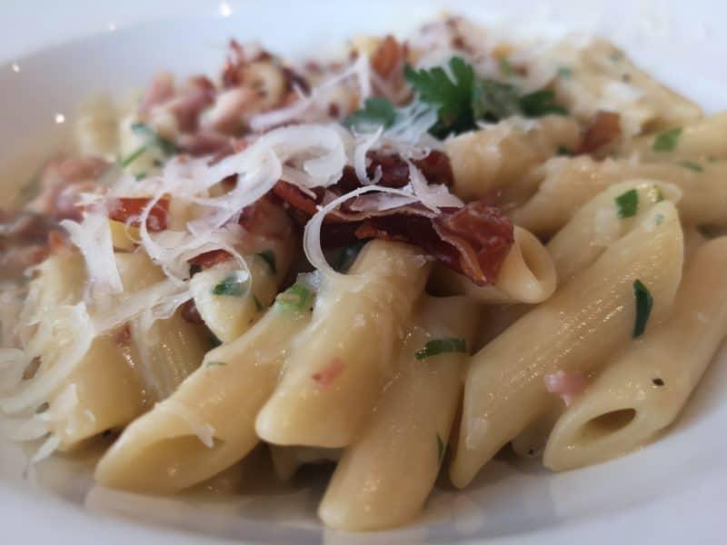 Pasta at Prezzo
